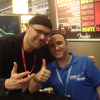 With Greg Koch